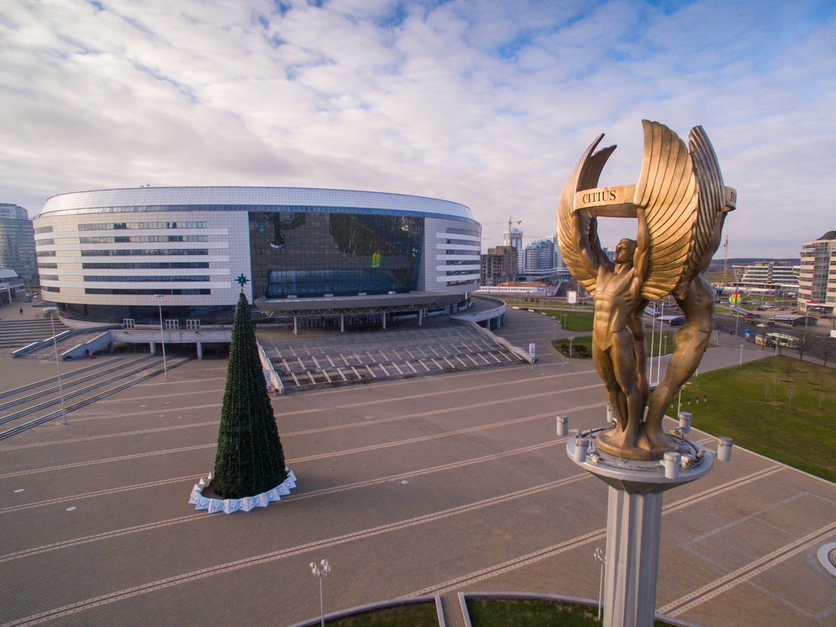 Main sports ground of Belarus